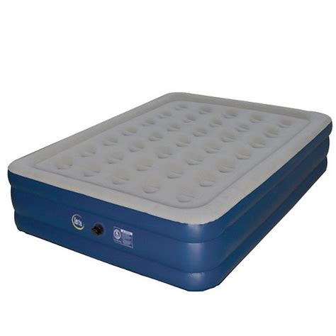 serta sleeper 18 quot raised high air mattress target