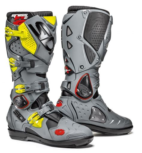 dirt bike riding boots cheap 575 00 sidi mens crossfire 2 srs offroad motocross 998331