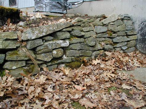 saki s world backyard rock wall near basement