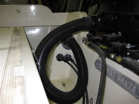boat rigging tubes is there a better way rigging tube hydraulic hoses thru