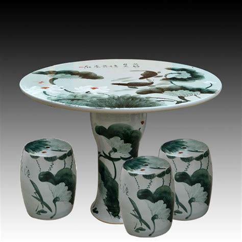 Antique Ceramic Table Ls by Antique Wucai Ink And Wash Ceramic Garden Stool Table Set Ryay264 Jingdezhen Shengjiang