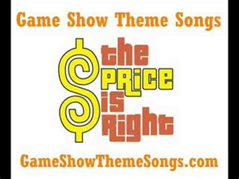 theme to definition game show price is right theme song game show theme songs youtube