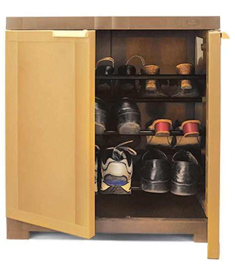 B Q Kitchen Cabinet Doors nilkamal freedom mini shoe cabinet 09 sandybrown dark