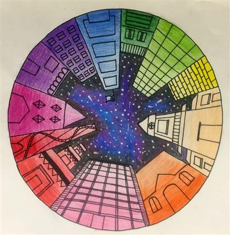market color wheel perspective