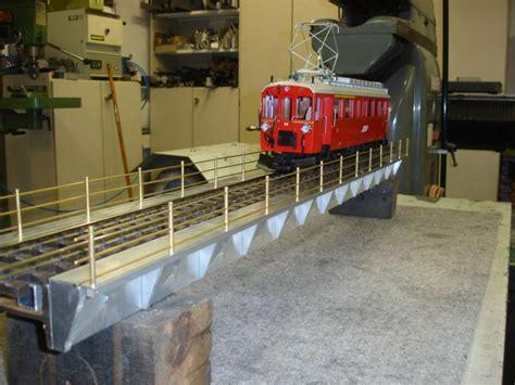 geländerpfosten neubau einer kastenbr 252 cke forum des gartenbahn