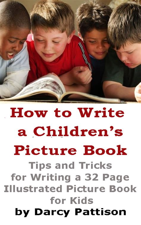 How To Write A Children S Picture Book Template Effective Picture Book Subtitles