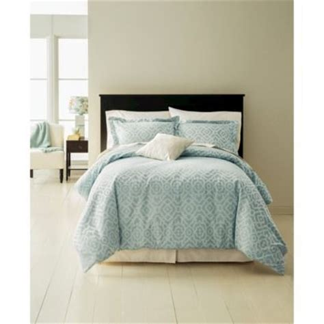 fieldcrest 174 luxury geometric comforter may be a less