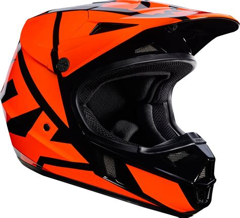 motocross helmets youth fox racing youth v1 race mx motocross helmet ebay