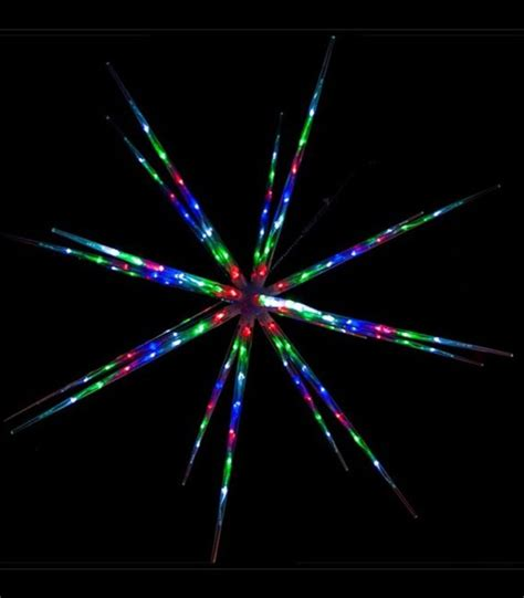 starburst christmas lights