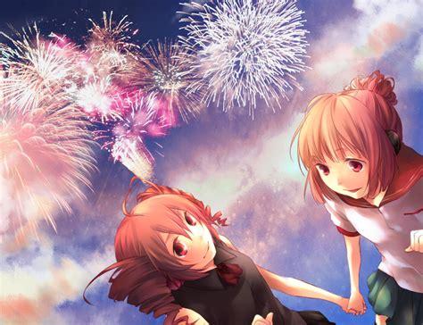 anime fireworks indonesia the sky of fireworks 761531 zerochan
