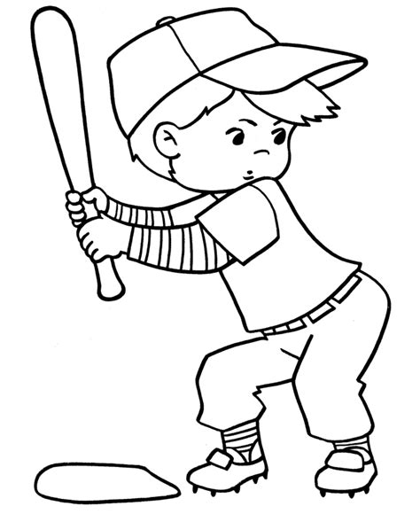 printable baseball activity sheets sport baseball kids coloring sheet for drawing