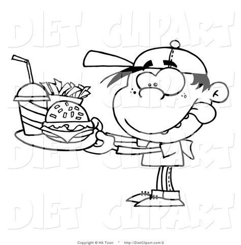 hungry boy coloring page 17 images about food drink and cooking coloring pages on