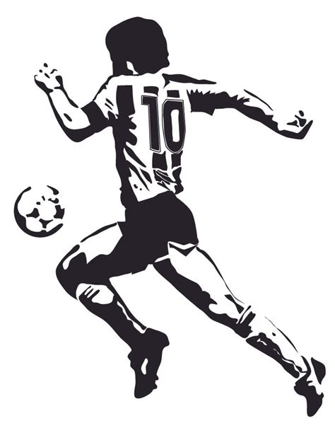 Make Your Own Wall Stickers wall stickers maradona 3 sizes and real size various colors