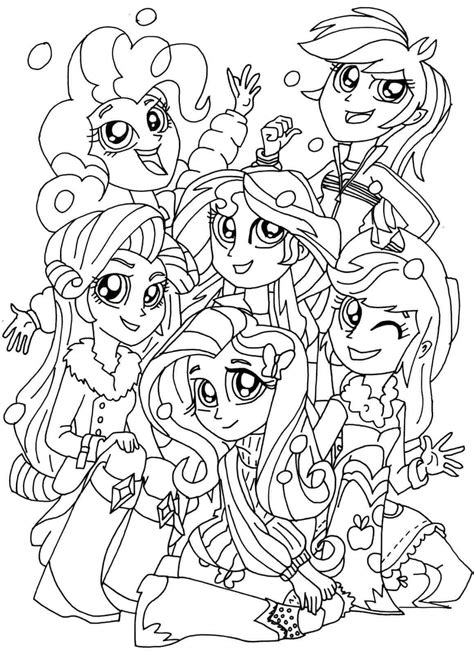 derpy coloring pages coloring pages 15 printable my little pony equestria girls coloring pages