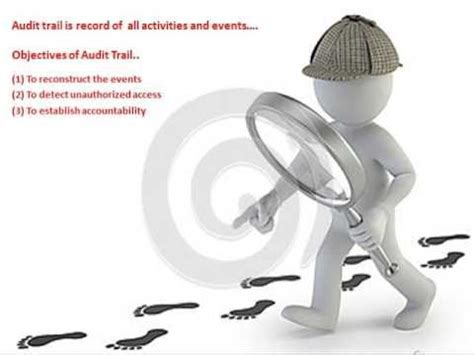 5 Audit Objectives by Isca Chapter 6 Objectives Of Audit Trail
