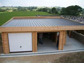carport bois toit plat 1000 images about carport et garage on