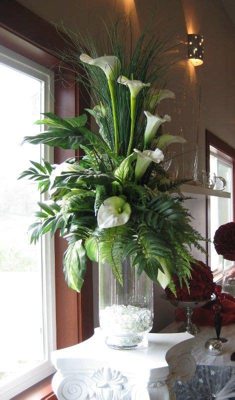 cylinder vase arrangements flower arrangement in