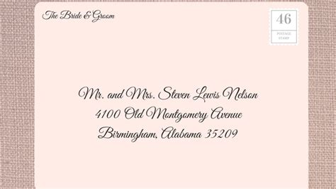 can you print addresses on wedding invitations how to address wedding invitations southern living