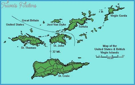 map of us islands st the u s islands map travelsfinders