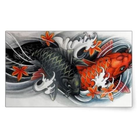 japanese drawings of koi fish japanese red black koi