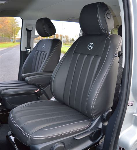 mercedes seat covers mercedes vito w447 tailored seat covers with