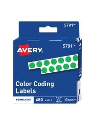 template for avery color coding labels color coding labels