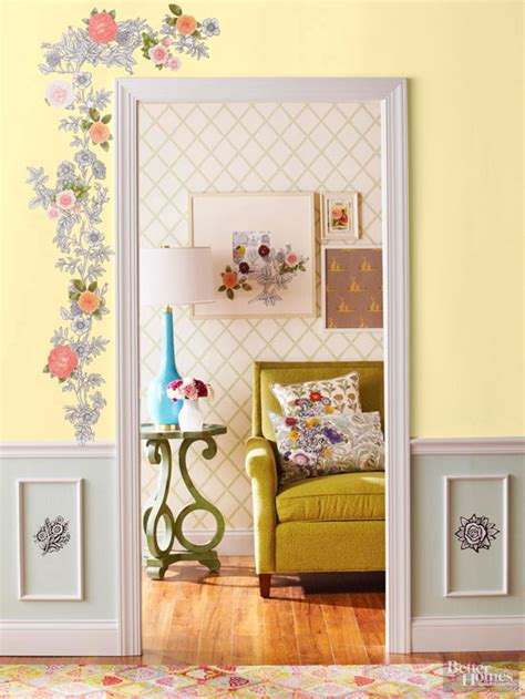 Decoupage House - decoupage home decor projects better homes and gardens