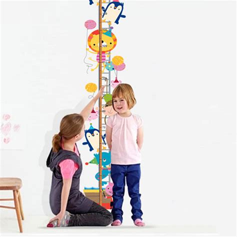 Hw La Fasta By H M Toys decor animal wall stickers height measurement