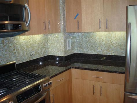 kitchen embellish glass tile backsplash pictures for