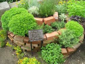Small Herb Garden Ideas Spiral Herb Garden Design Photograph This Herb Garden
