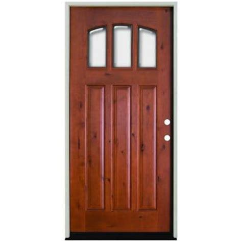 24 inch exterior door home depot steves sons 36 in x 80 in craftsman 3 lite arch