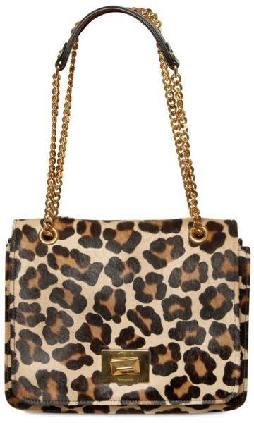 Leopard Print Shoulder Bag emilio pucci leopard print ponyskin shoulder bag in animal
