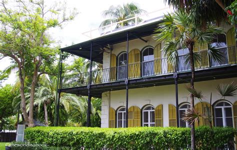 hemingway home key west things to do in one day in key west florida