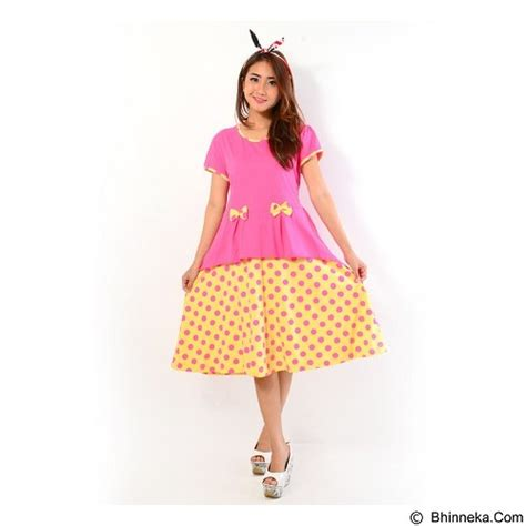 Dress Natasya Atas Pink Rokmerak Fashion Wanita Dress Wanita jual forever dress lapis p 788 pink merchant murah