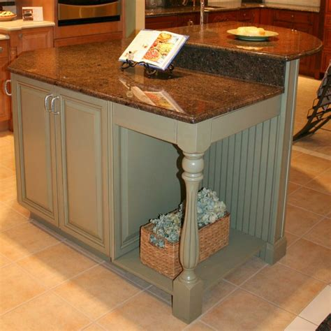 kitchen island with beadboard home decor