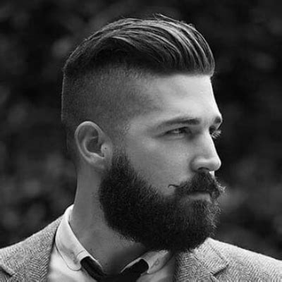 mens hairstyle with beard top 5 hairstyles for with beards the idle
