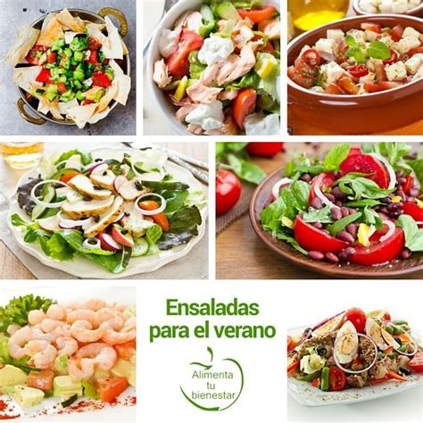 recetas para el verano de cocina 7 recetas de ensaladas para el verano