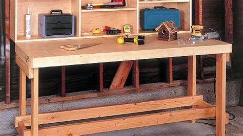 folding workbench plans wwgoa