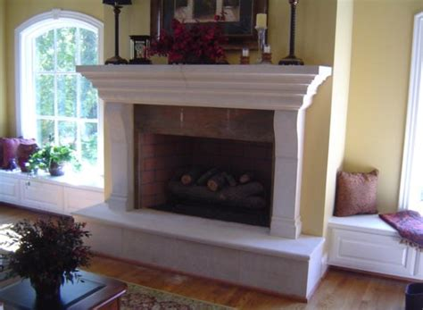 coral usa cast fireplace