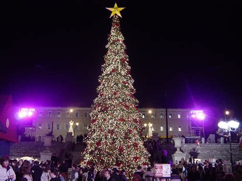 file athens christmas tree jpg wikipedia