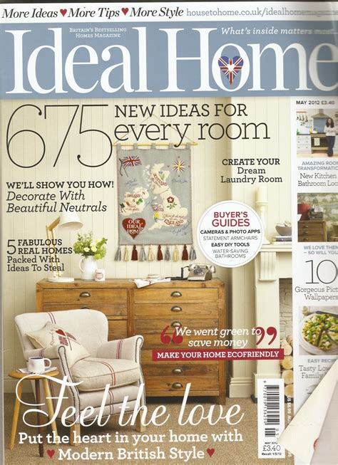 ideal home magazine dreamwall wallcoverings with a