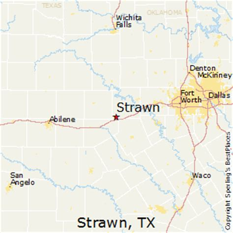 strawn texas map best places to live in strawn texas