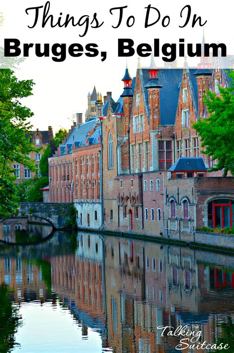 things to do in things to do in bruges belgium with