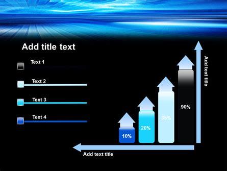 horizon powerpoint themes deep blue horizon powerpoint template backgrounds 07363