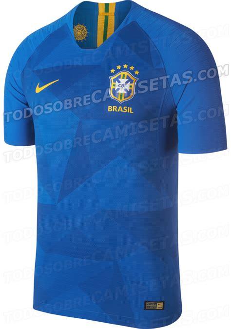 Brasil Mundial 2018 Anticipo Camisas De Brasil Rusia 2018 Todo Sobre Camisetas