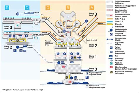 frankfurt airport map how is the frankfurt airport laid out reference