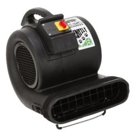 b air high velocity 3 speed 3550 cfm air mover carpet