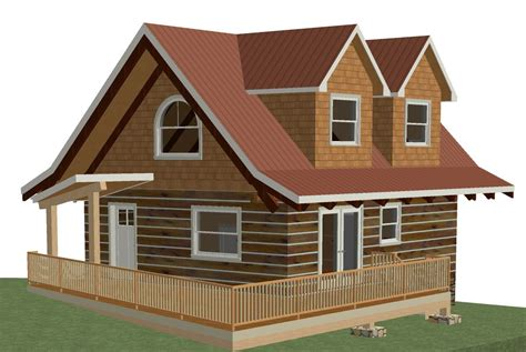 home design 3d exles log cottage floor plan 24 x28 672 square