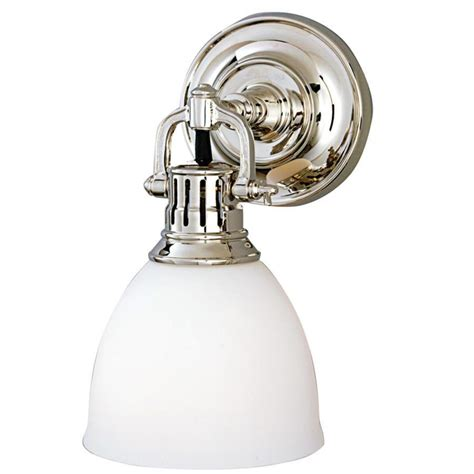 hudson valley pelham 1 light wall sconce in polished
