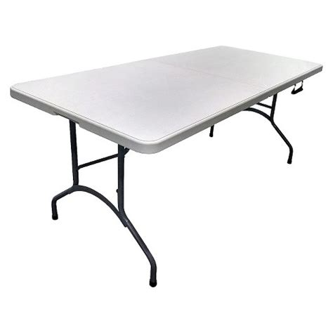 6 folding table target 6 folding banquet table plastic dev 174 target